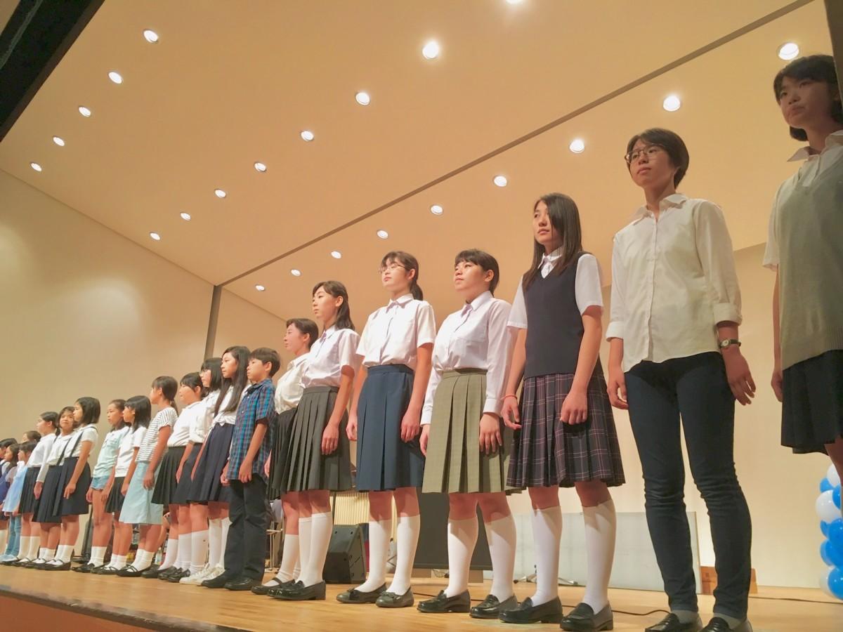かなりあ少年少女合唱団コンサートにじいろの歌声9リハーサル