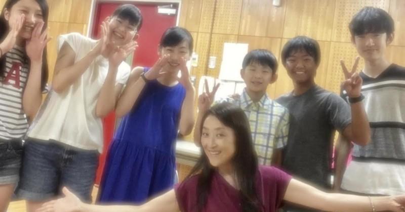 渡辺麻衣&中高生メンバー