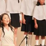 モーツアルト「アレルヤ」を歌う渡辺麻衣とかなりあ 少年少女合唱団