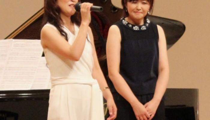 第一回目からのゲスト・堤知恵子さん(マリンバ・パーカッション)と渡辺麻衣
